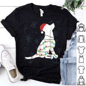 Nice Christmas Lights Labrador Retriever Dog Lover Gift shirt