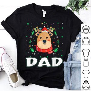Nice Cute Dad Reindeer Santa Ugly Christmas Family Matching sweater