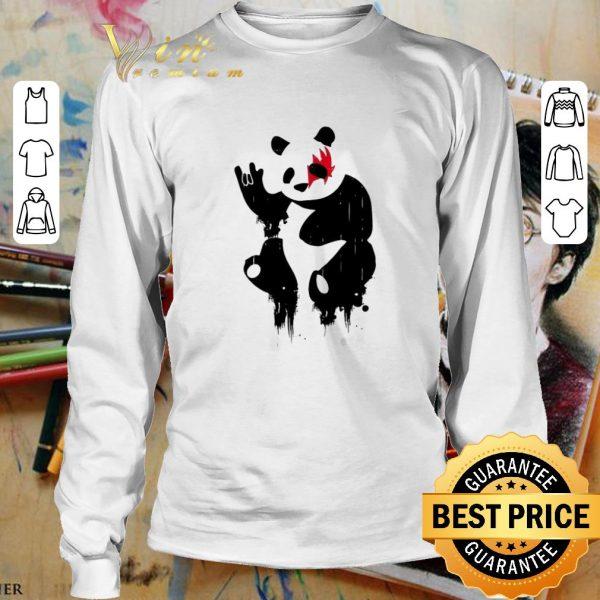 Nice Kiss Panda Rock shirt