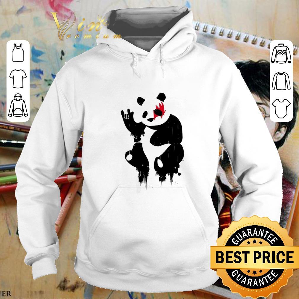 Nice Kiss Panda Rock shirt 4 - Nice Kiss Panda Rock shirt