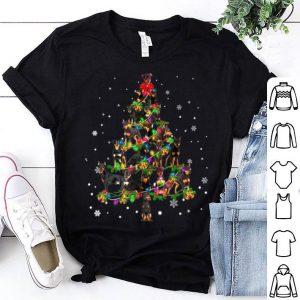 Official Cute Miniature Pinscher dog Christmas Tree gift decor Xmas shirt
