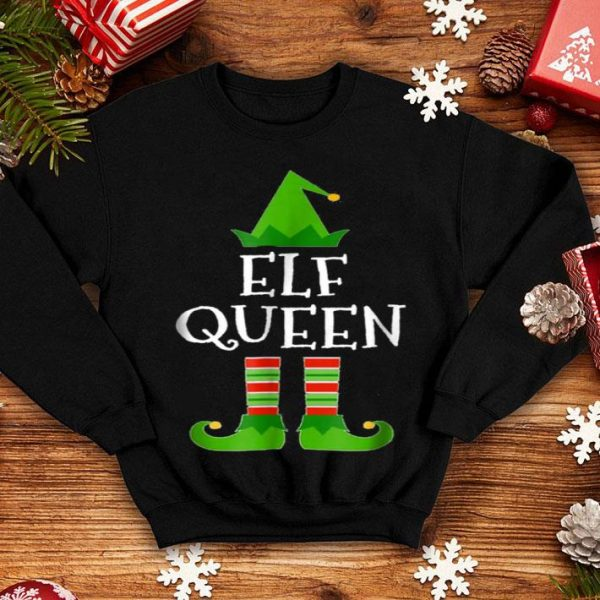 Official Elf Queen Matching Family Group Christmas sweater