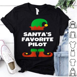 Official Santa's Favorite Pilot Christmas Gift Funny shirt