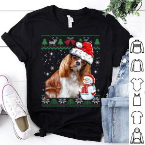 Original Cavalier King Ugly Christmas Funny Christmas Dog Lover Gift shirt