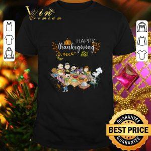 Premium Peanuts party Happy Thanksgiving shirt
