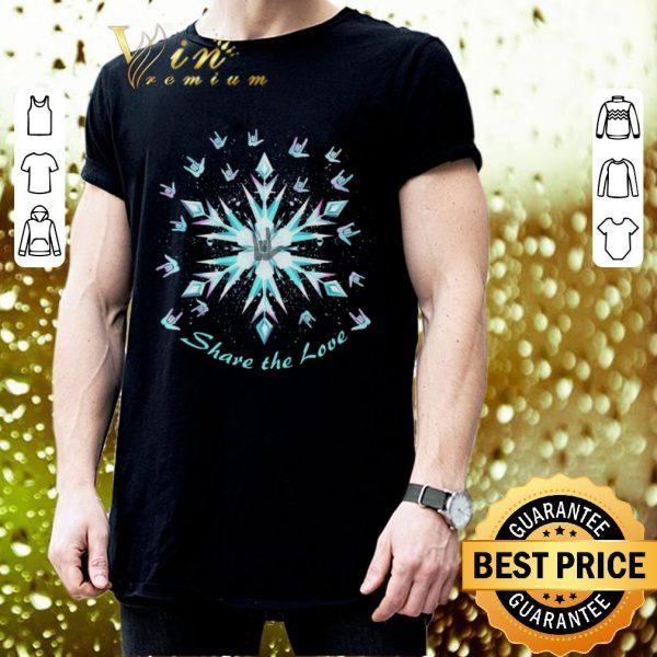 Premium Sign Language Share The Love shirt