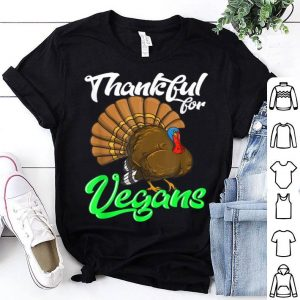 Premium Vegan Thanksgiving Christmas Save The Turkey Vegetarian Gift shirt
