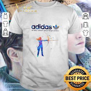Premium adidas all day i dream about Target archery shirt