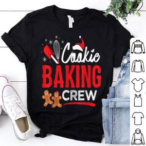 Pretty Cookie Baking Crew Christmas Holiday shirt