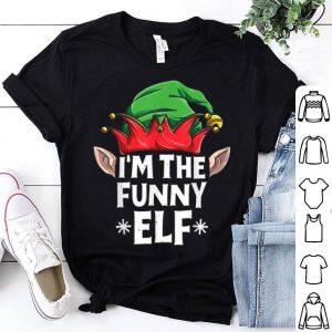 Pretty I'm The Funny Elf Christmas Family Matching Pajamas Elves sweater