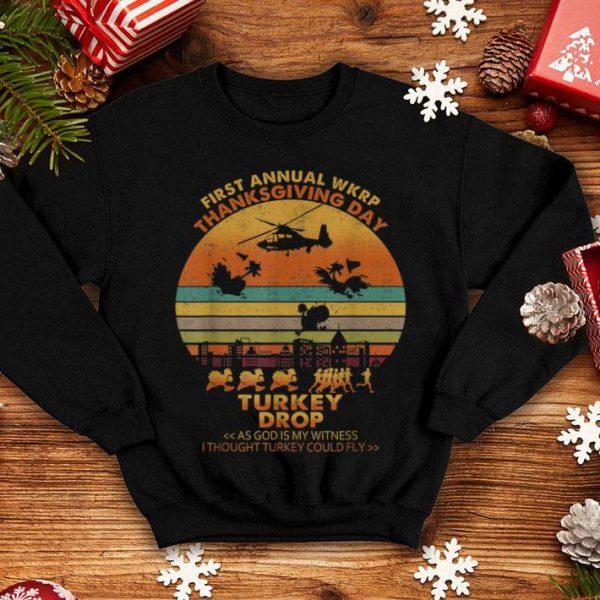 Pretty Wkrp Turkey Drop Thanksgiving Gifts shirt
