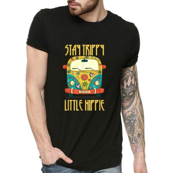 Stay Trippy Little Hippie Van Peace shirt