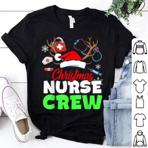 Top Christmas Nurse Crew Practitioners Cute Gift RN LPN shirt