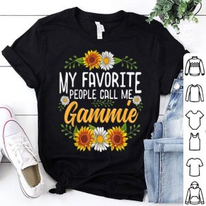 Top My Favorite People Call Me Gammie Thanksgiving Gifts shirt