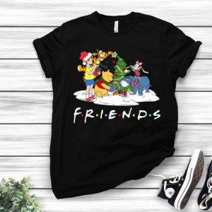 Winnie The Pooh Friends Christmas shirt
