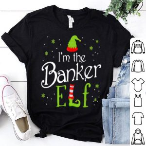 Awesome I'm The Banker Elf Funny Group Matching Family Xmas Gift sweater