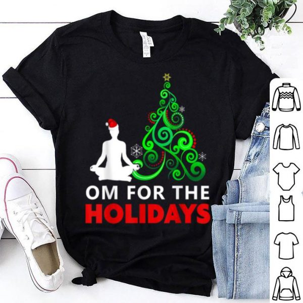 Beautiful Yoga Christmas Gift - Om for the Holidays sweater