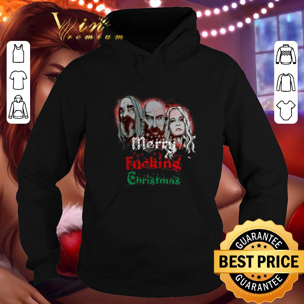 Cheap 3 From Hell Merry fucking Christmas Rob Zombie shirt 4 - Cheap 3 From Hell Merry fucking Christmas Rob Zombie shirt