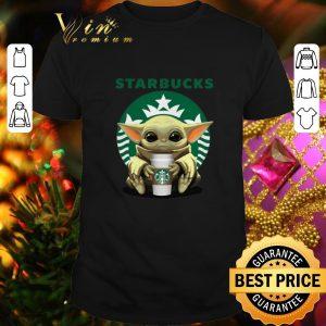 Cheap Baby Starbucks Baby Yoda shirt