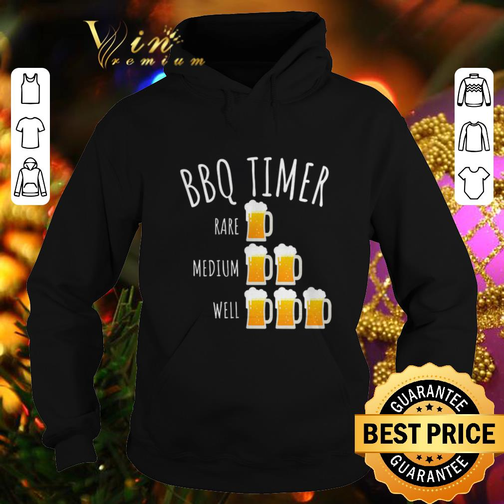 Cheap Bbq Timer Beer Drinking Grilling shirt 4 - Cheap Bbq Timer Beer Drinking Grilling shirt