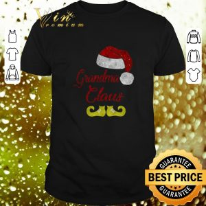 Cheap Grandma Claus Santa Hat Christmas shirt