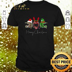 Cheap Merry Christmas Leopard Plaid Motorcycle Helmet shirt