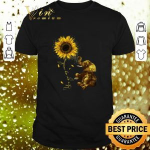 Cheap Sunflower you are my sunshine elephant shirt