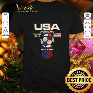Cheap USA women's France 2019 Soccer shirt