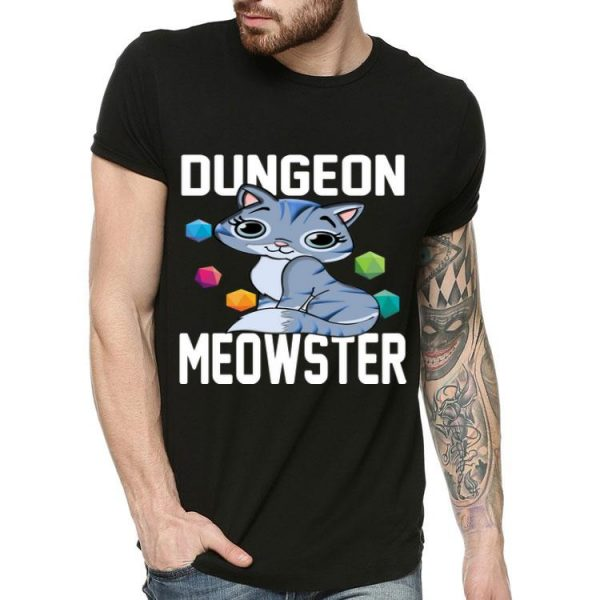 Dungeon Meowster Cat Lovers shirt