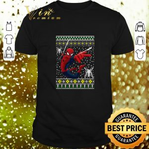 Funny Amazing Spider man ugly Christmas sweater