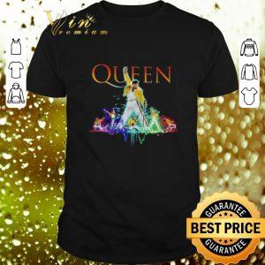 Funny Color Queen Freddie Mercury shirt