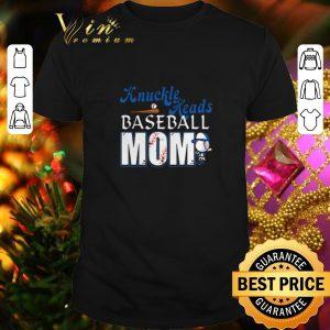 Funny Knuckle Heads Baseball Mom shirt