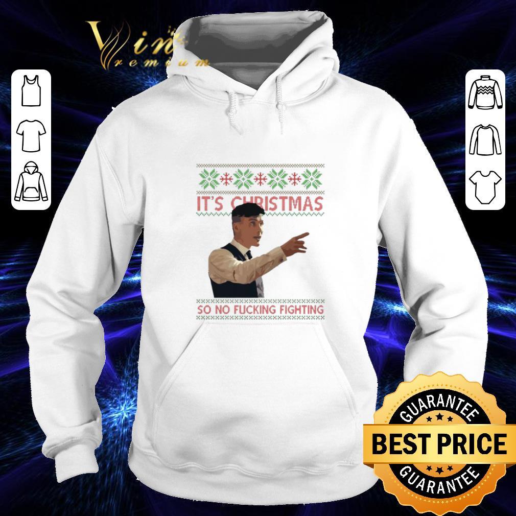 Funny Thomas Shelby It s Christmas so no fucking fighting shirt 4 - Funny Thomas Shelby It's Christmas so no fucking fighting shirt
