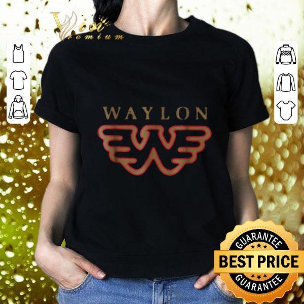 Funny Waylon Jennings Flying W Symbol shirt