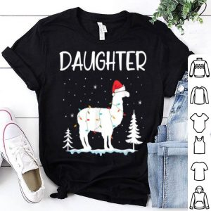 Official Daughter Llama Christmas Funny Matching Family Pajama Gift sweater