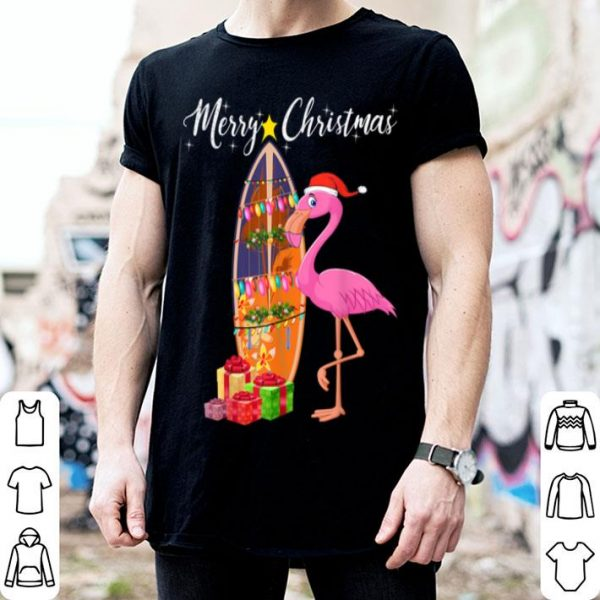Official Flamingo Merry Christmas Funny Xmas Gift For Flamingo Lovers sweater