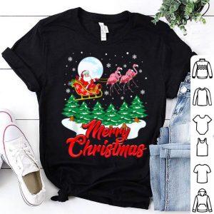 Official Funny Flamingo Santa Merry Christmas Gift Xmas sweater