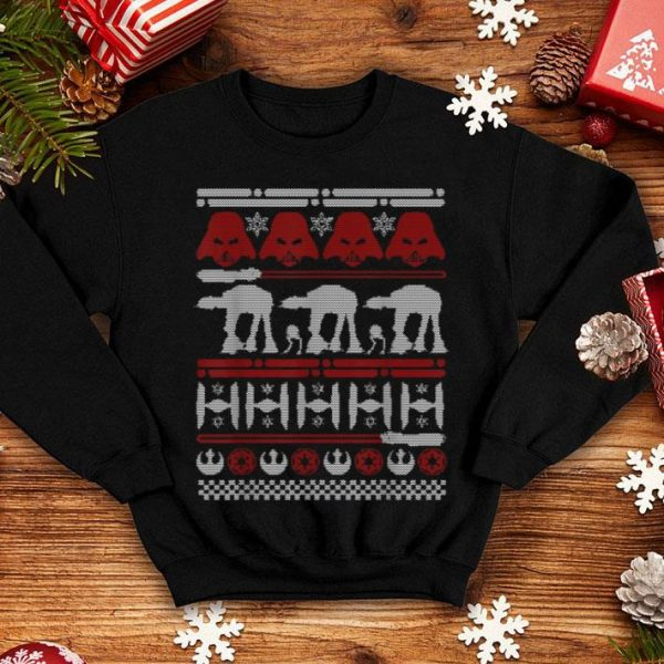 Official Star Wars Battle Of Hoth Ugly Christmas Sweater sweater