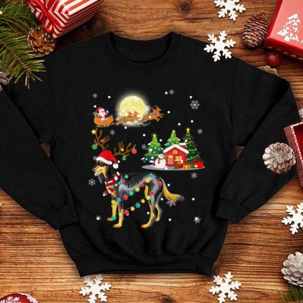 Original Cute SALUKI Comes To Town Christmas Gift sweater