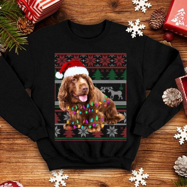 Original Field Spaniel Ugly Sweater Christmas Gift sweater