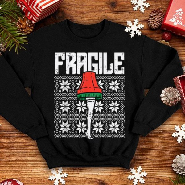 Original Fragile Leg Lamp Ugly Christmas Sweater Funny Xmas Gift sweater