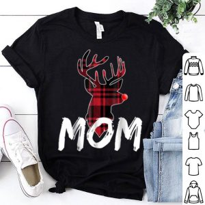 Original Mom Family Matching Pajama - Christmas Red Nose Deer sweater