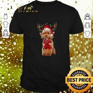 Premium Poodle Reindeer Christmas shirt
