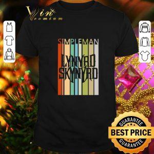 Premium Simple Man Lynyrd Skynyrd Vintage shirt