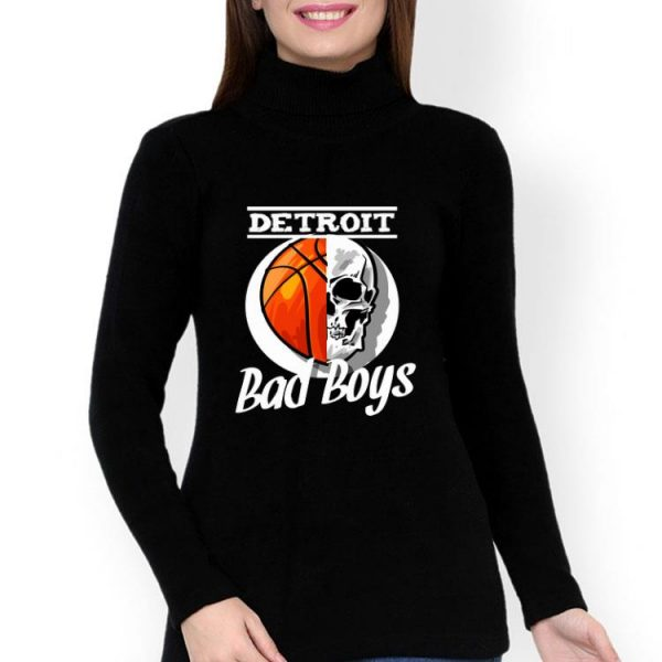 Skull Basketball Detroit Bad Boys shirt