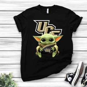Star Wars Baby Yoda Hug NFL UCF Knights shirt