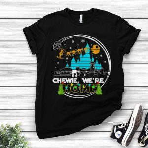 Star Wars Walt Disney Chewie We're Home shirt