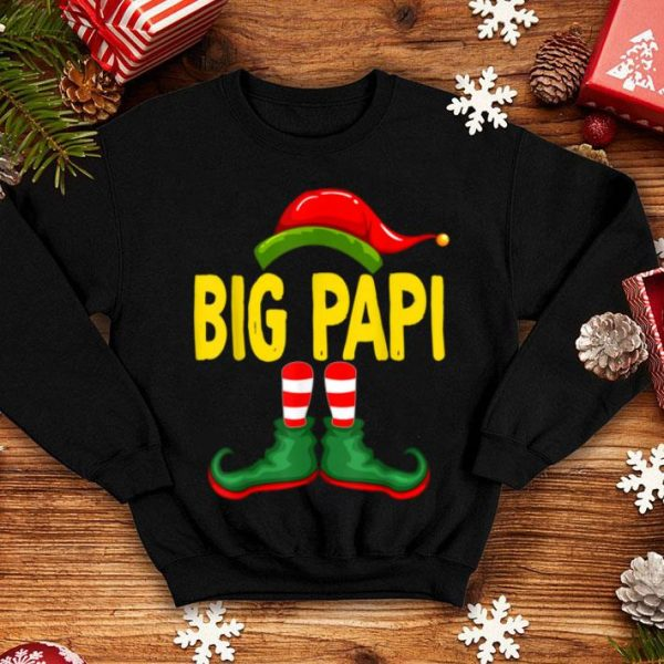 Top I'm The BIG PAPI Elf Funny Matching Family Group Christmas sweater