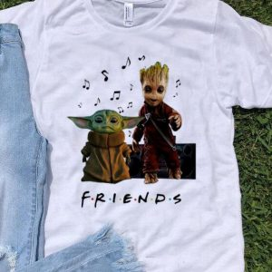 Baby Yoda And Baby Groot Friends shirt