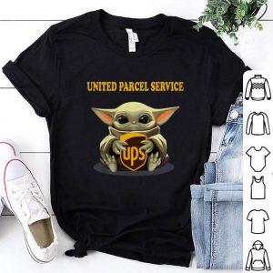 Baby Yoda Hug United Parcel Service Star Wars Mandalorian shirt